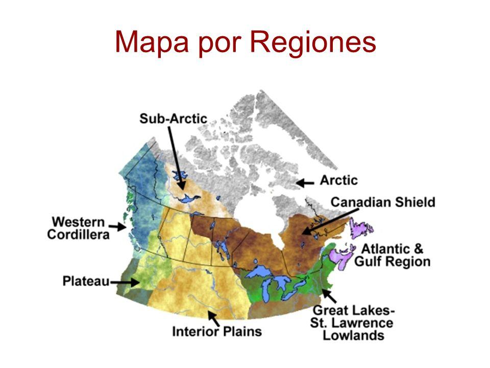 Mapa por Regiones
