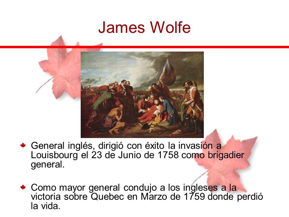 General inglés, dirigió con éxito la invasión a Louisbourg el 23 de Junio de 1758 como brigadier general. Como mayor general condujo a los ingleses a