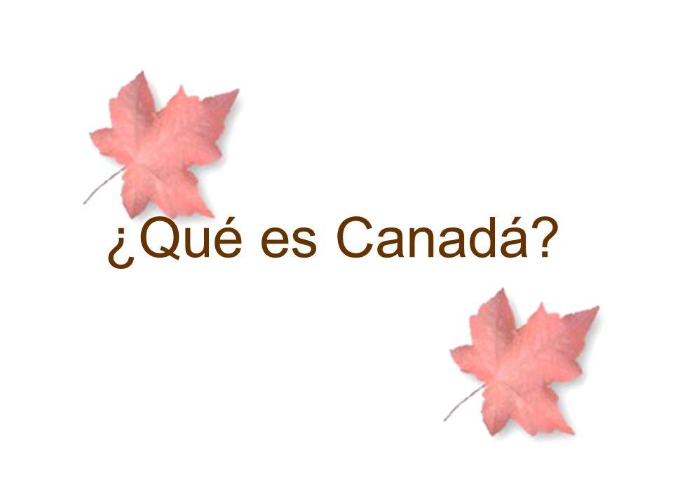 ¿Qué es Canadá?
