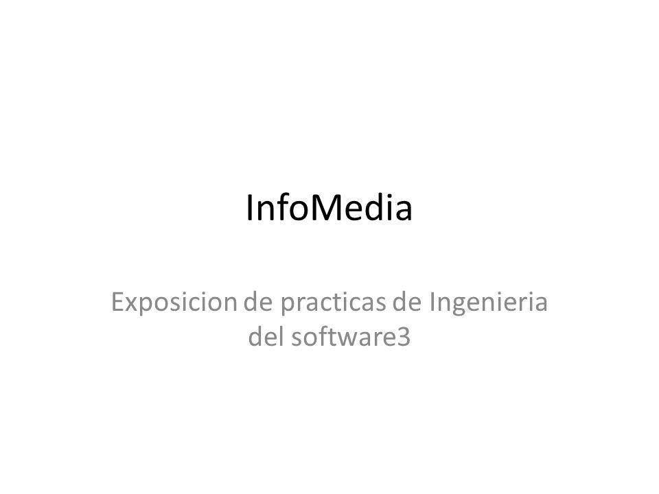 InfoMedia Exposicion de practicas de Ingenieria del software3