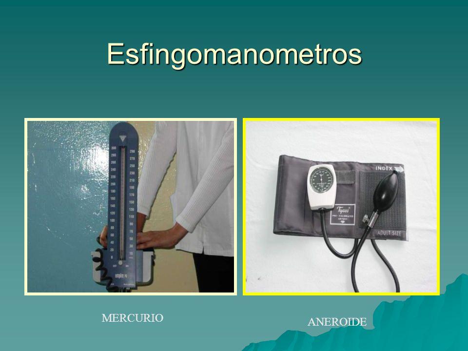 MERCURIO ANEROIDE Esfingomanometros