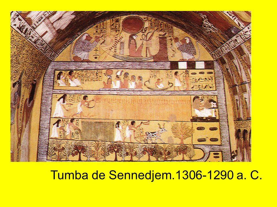 Tumba de Sennedjem.1306-1290 a. C.