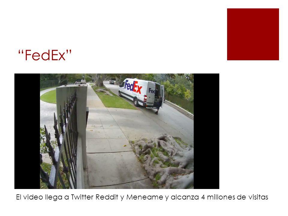 FedEx El video llega a Twitter Reddit y Meneame y alcanza 4 millones de visitas