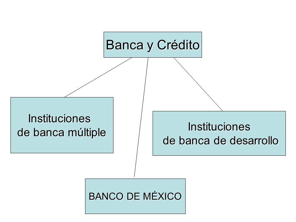 INSTITUCIONES DE BANCA MÚLTIPLE Tendrán por objeto la prestación del servicio de banca y crédito, en los términos de la presente Ley; La duración de la sociedad será indefinida; Deberán contar con el capital social y el capital mínimo que corresponda conforme a lo previsto en esta Ley (art.