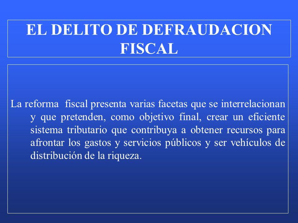 La reforma fiscal presenta varias facetas que se interrelacionan y que pretenden, como objetivo final, crear un eficiente sistema tributario que contr