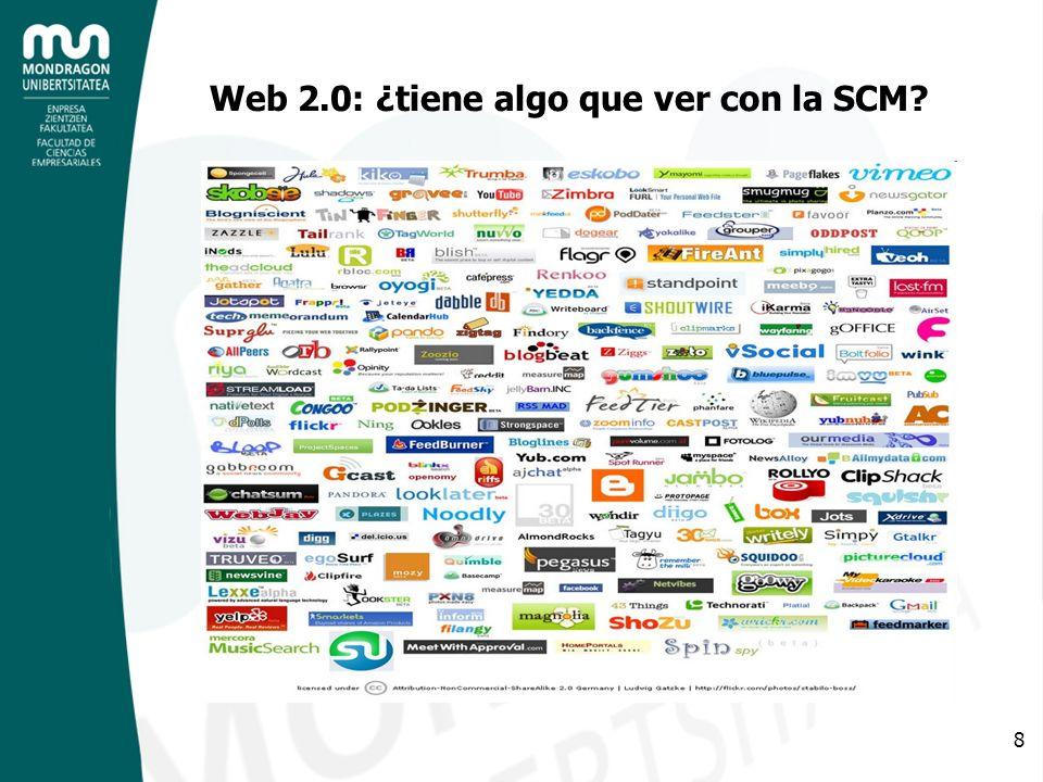 8 Web 2.0: ¿tiene algo que ver con la SCM?
