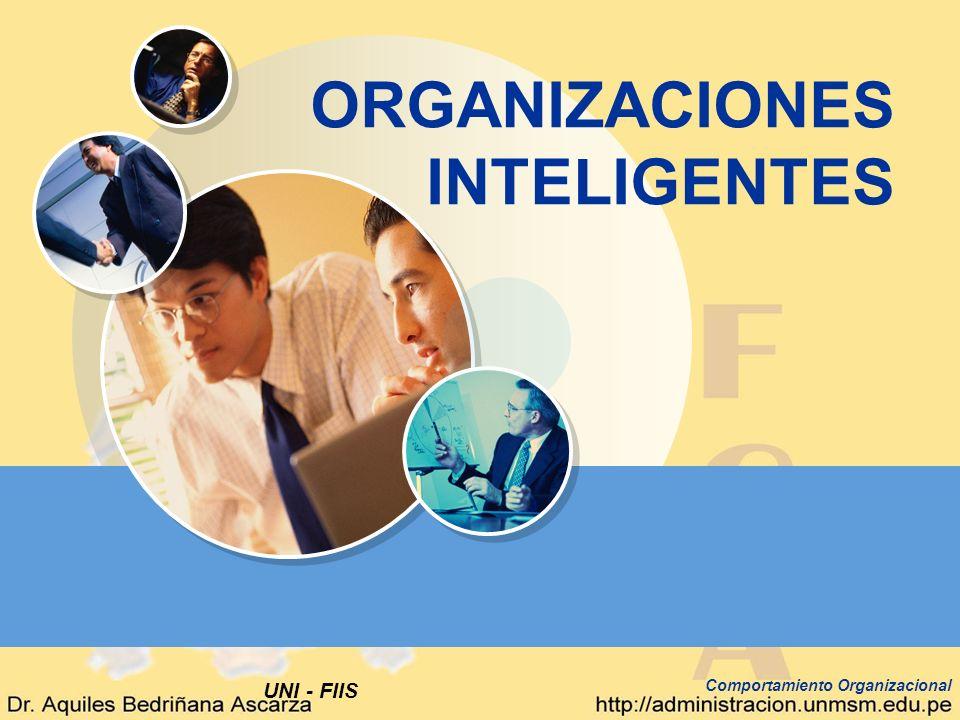 UNI - FIIS Comportamiento Organizacional ORGANIZACIONES INTELIGENTES