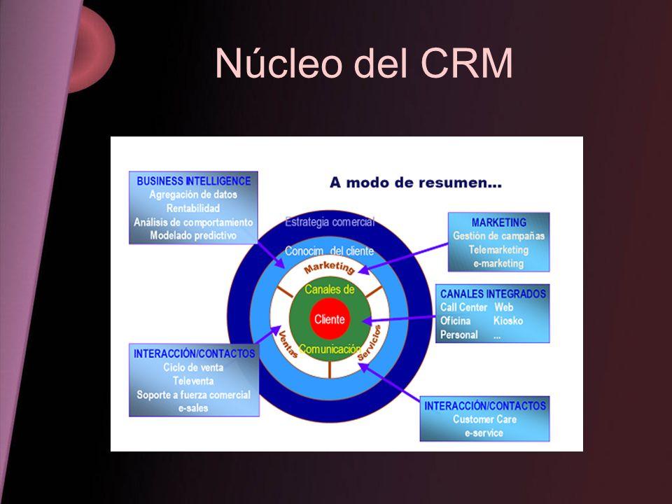 Núcleo del CRM