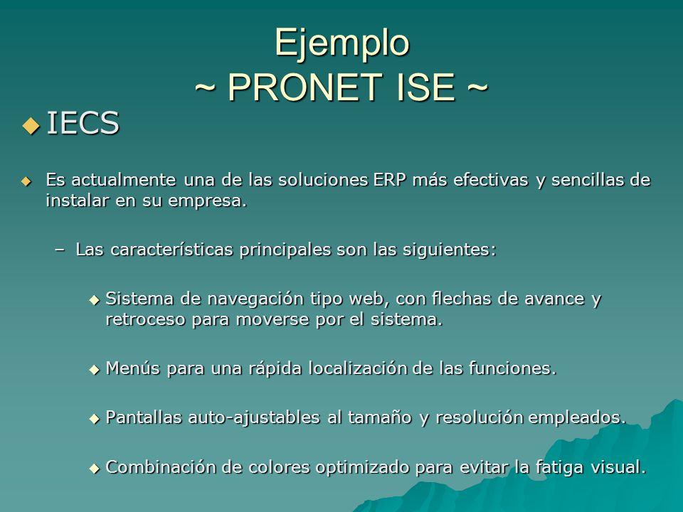 IECS IECS Es actualmente una de las soluciones ERP más efectivas y sencillas de instalar en su empresa. Es actualmente una de las soluciones ERP más e
