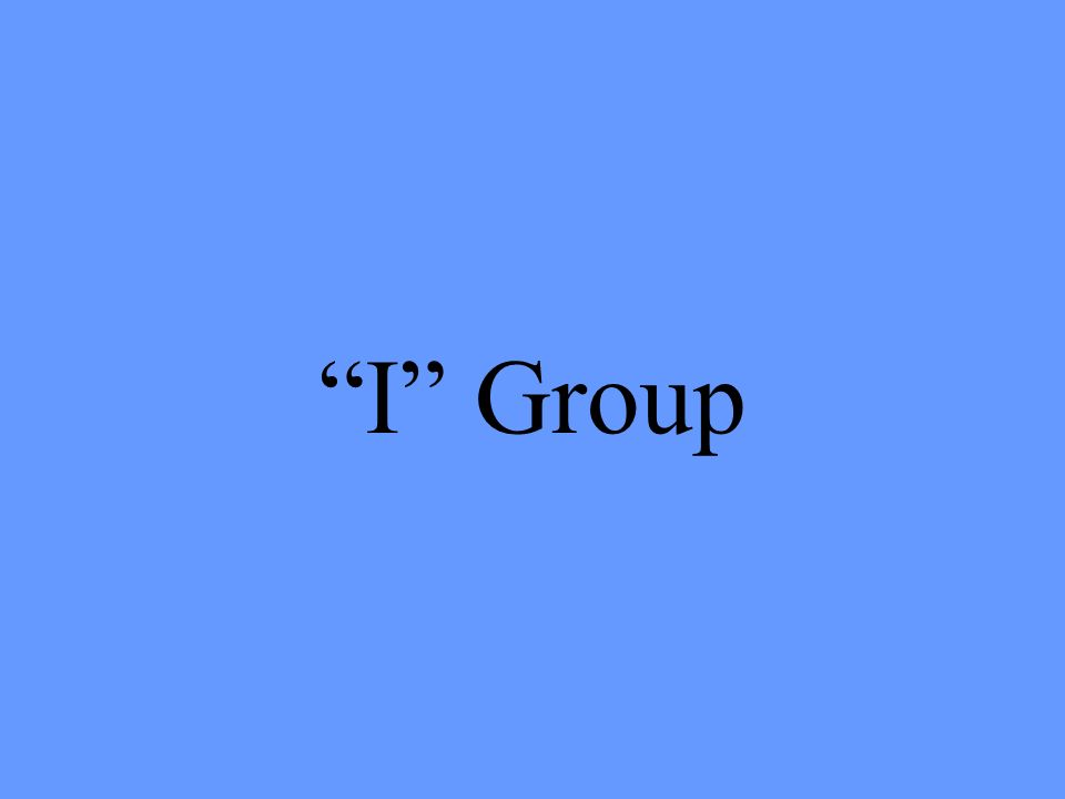 I Group