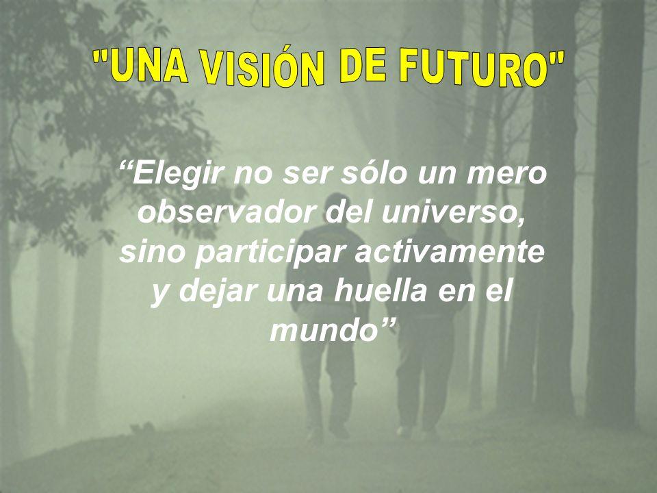 ! Porque en la visualización del futuro hay un gran poder¡ Características de una Visión: Es compartida por el equipo. El líder debe buscar que el equ