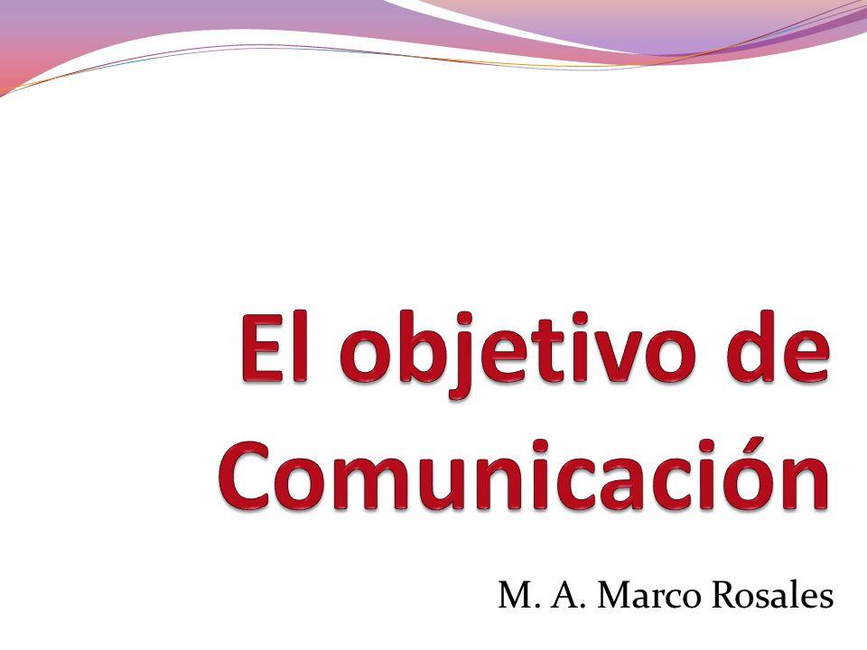 M. A. Marco Rosales