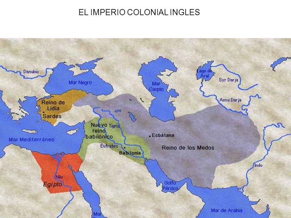 EL IMPERIO COLONIAL INGLES