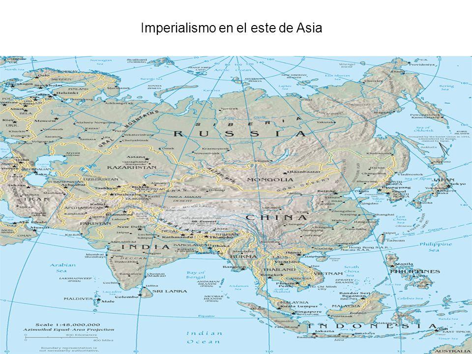 Imperialismo en el este de Asia