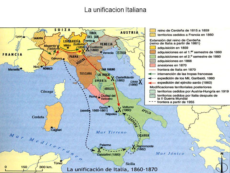 La unificacion Italiana