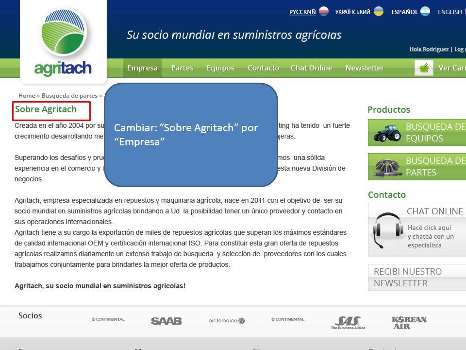 En REGISTRO agregar que dentro de lo que puede hacer como usuario registrado: Enviar una Orden de Compra.