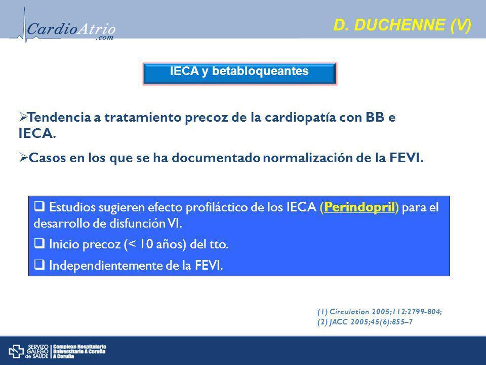 IECA y betabloqueantes D.