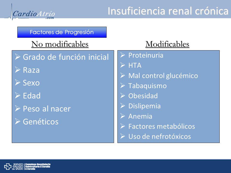 Troponina I + específica.Troponina T: 15-53% Diálisis Troponina T.