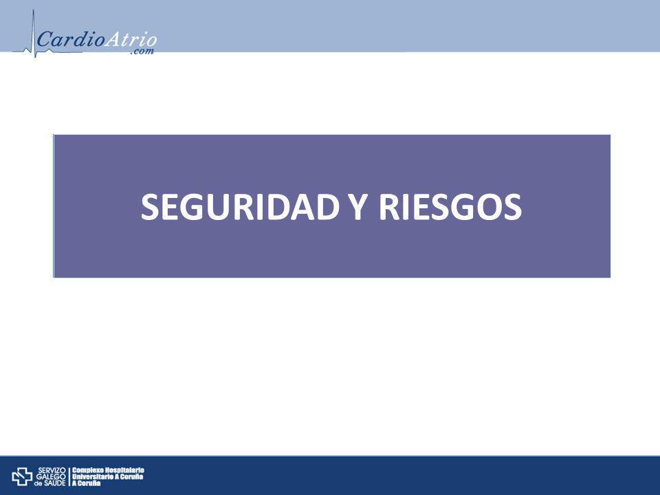 SEGURIDAD Y RIESGOS