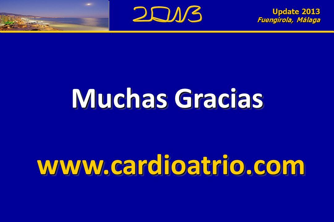 Update 2010 Fuengirola, Málaga Muchas Gracias Update 2013 Fuengirola, Málaga www.cardioatrio.comwww.cardioatrio.com