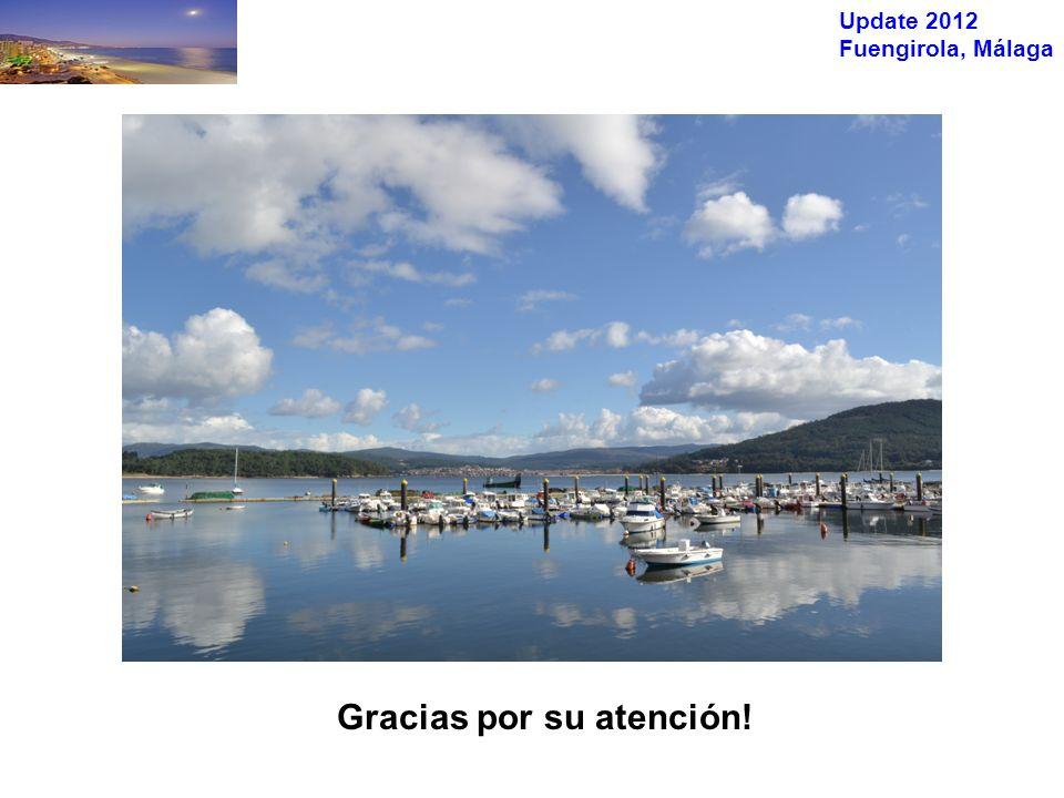 Update 2012 Fuengirola, Málaga Gracias por su atención!