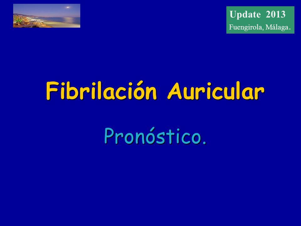 Update 2012 Fuengirola, Málaga Fibrilación Auricular Pronóstico. Update 2013 Fuengirola, Málaga.