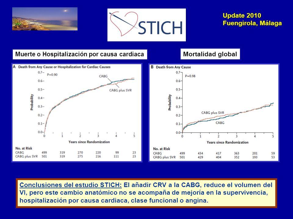 Update 2010 Fuengirola, Málaga STICH Trial.Limitaciones.