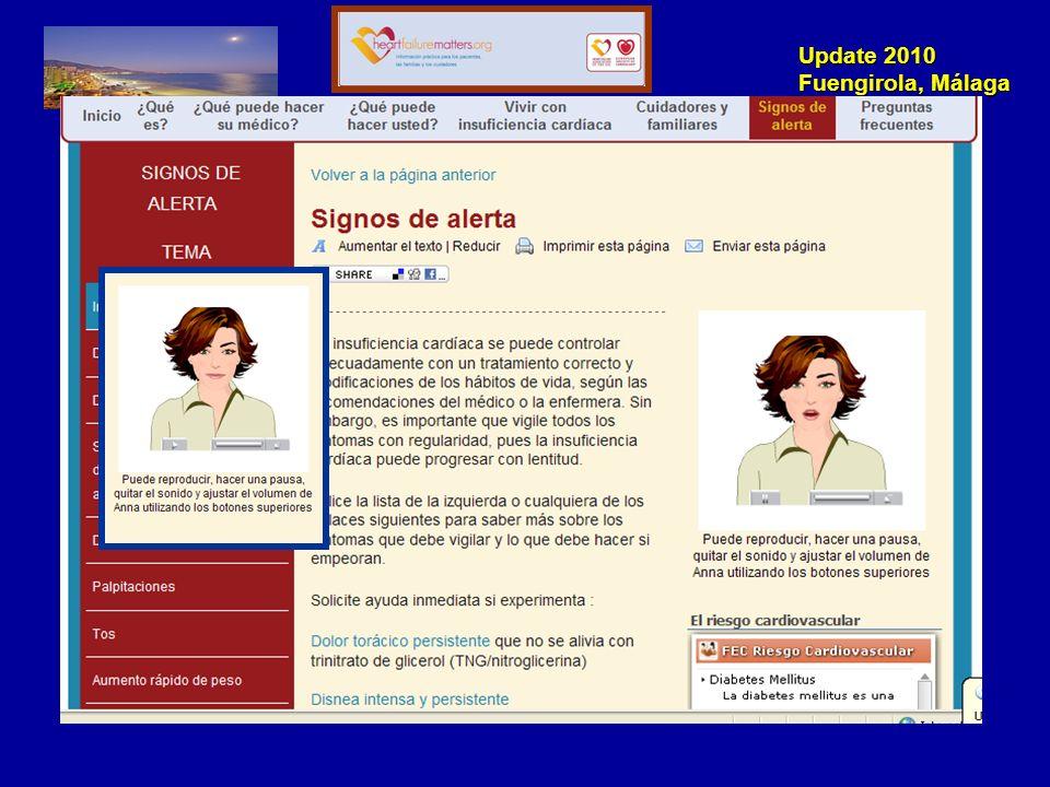 Update 2010 Fuengirola, Málaga www.heartfailurematters.org