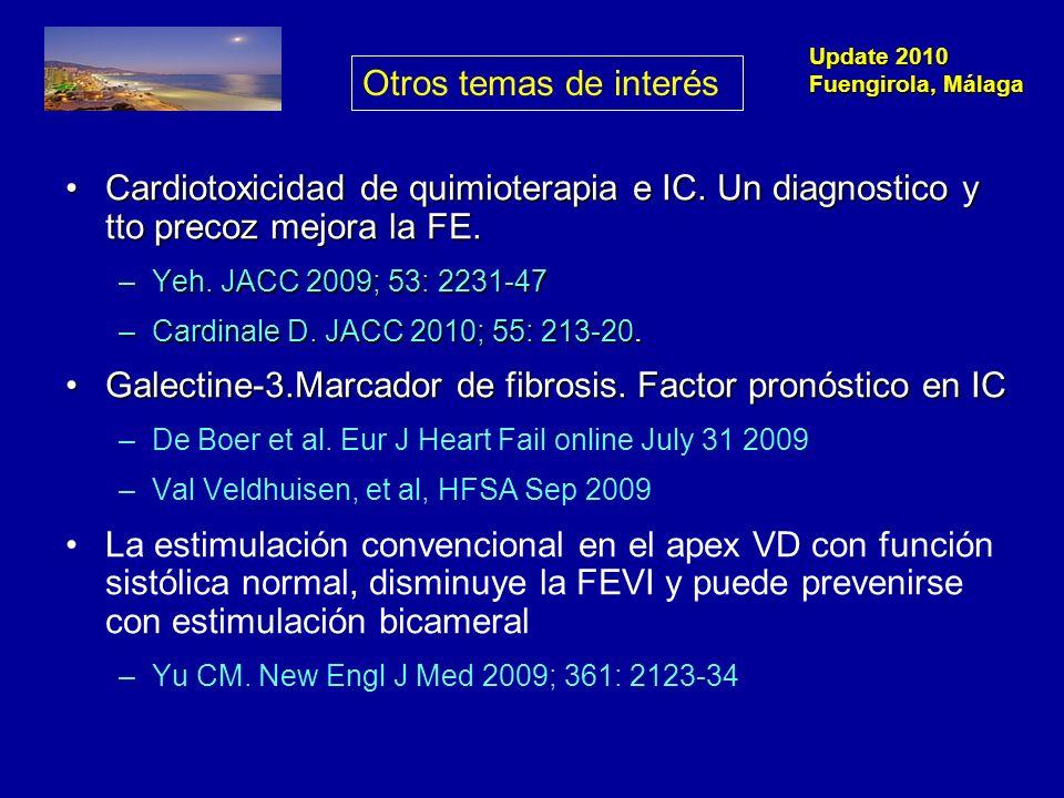 Update 2010 Fuengirola, Málaga Guías clínicas Genética (HFSA) e HT pulmonar.