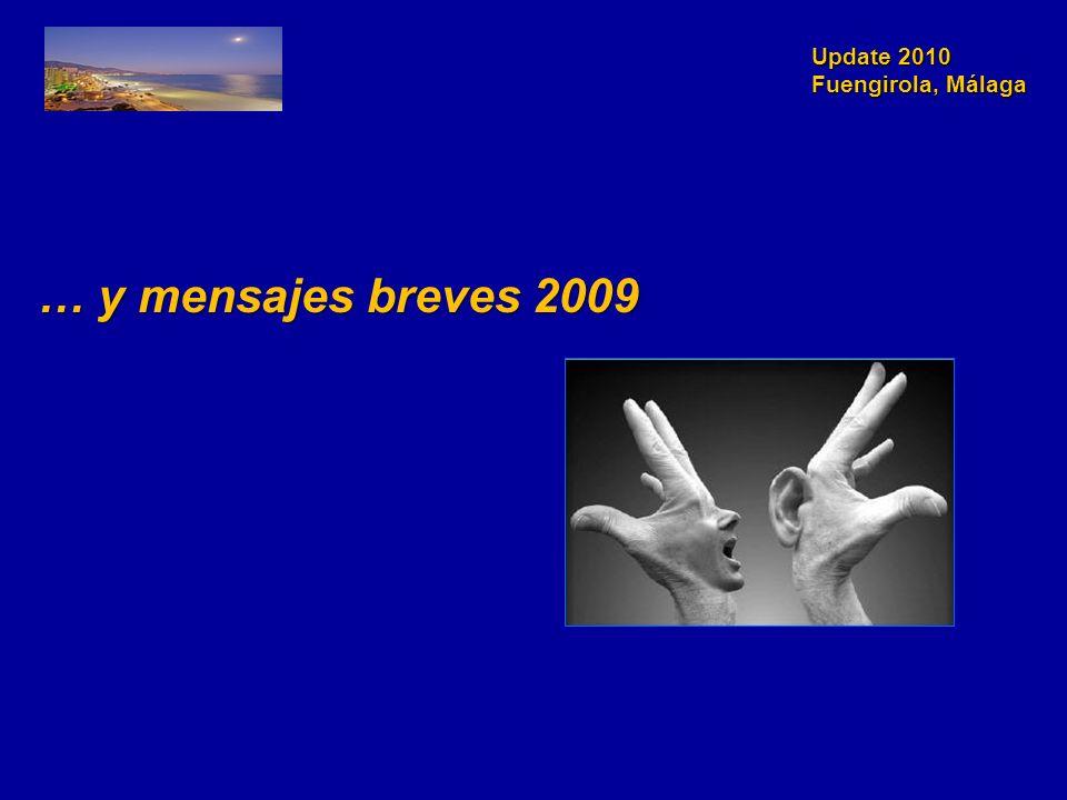 Update 2010 Fuengirola, Málaga … y mensajes breves 2009 … y mensajes breves 2009