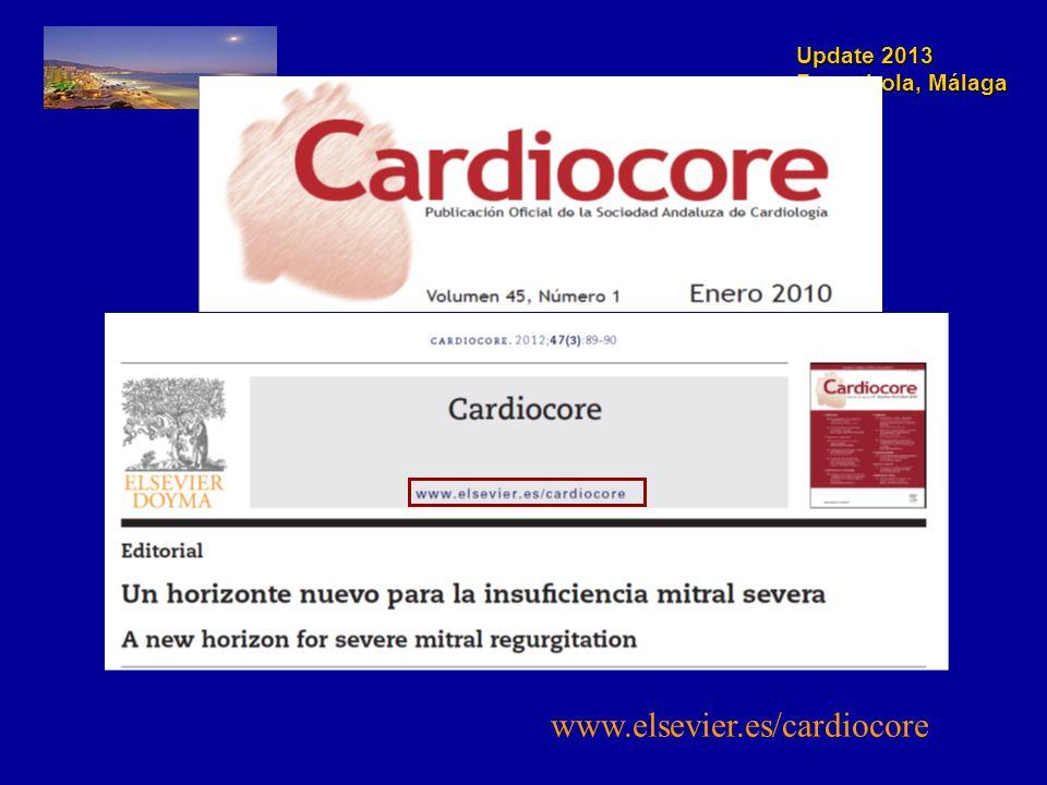 Update 2013 Fuengirola, Málaga www.elsevier.es/cardiocore