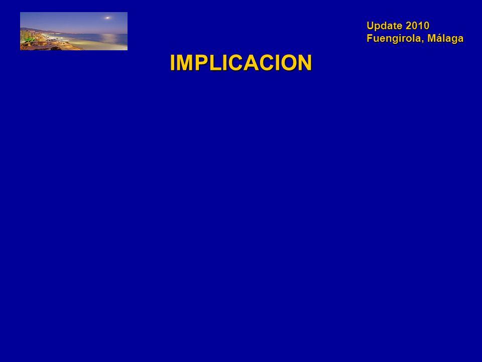 Update 2010 Fuengirola, Málaga IMPLICACION