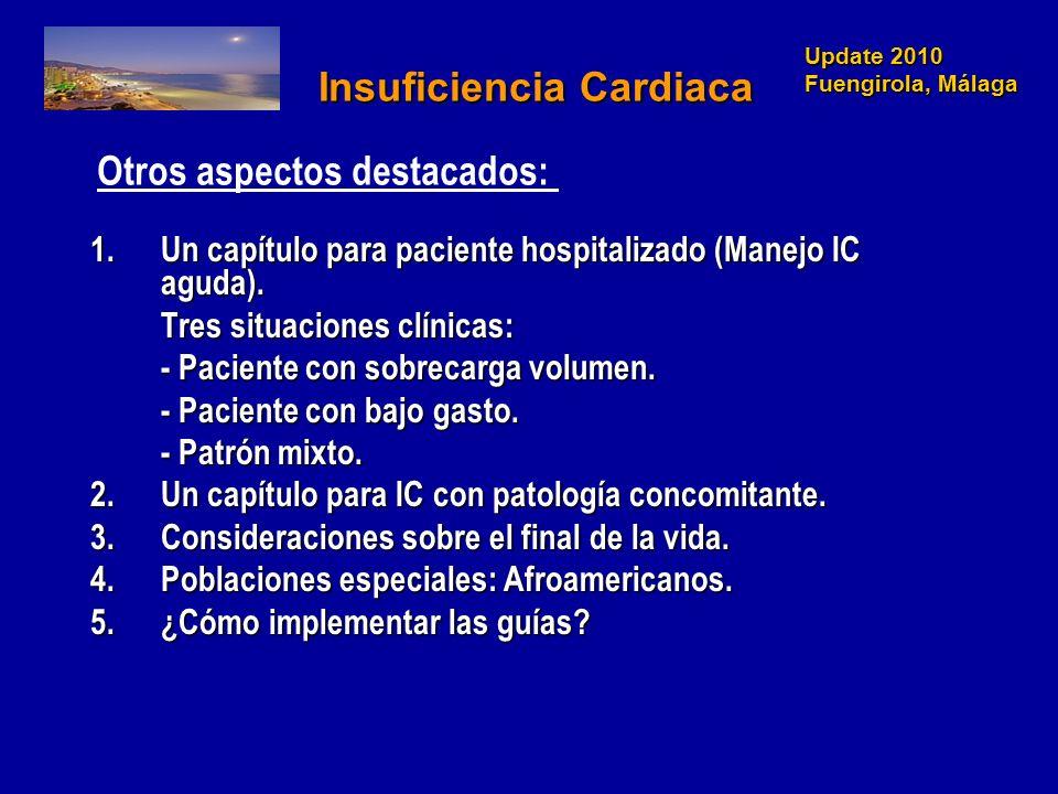 Update 2010 Fuengirola, Málaga Update 2010 Fuengirola, Málaga Insuficiencia Cardiaca Insuficiencia Cardiaca 1.Un capítulo para paciente hospitalizado