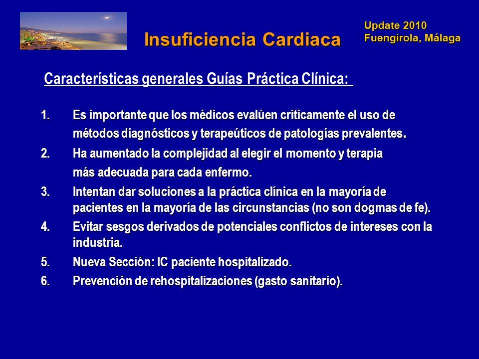 Update 2010 Fuengirola, Málaga NOVEDADES EN INSUFICIENCIA CARDIACA 2005 Devices in Selected patients