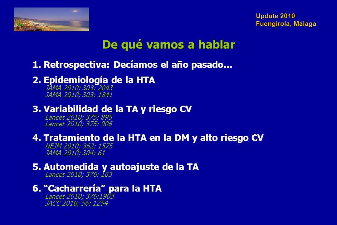 Update 2010 Fuengirola, Málaga Lancet 2010; 375: 906