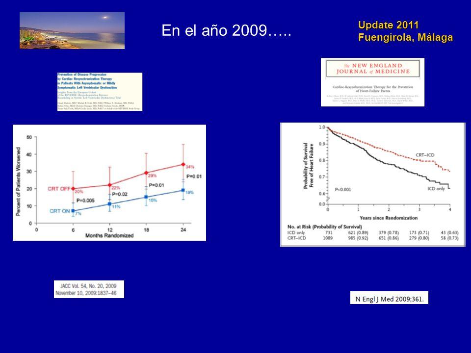 Update 2011 Fuengirola, Málaga Circulation 2010 122: 1144-52
