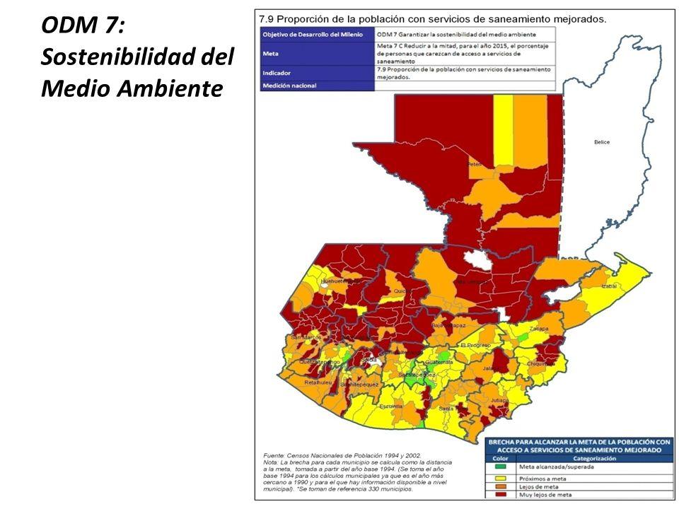 ODM 7: Sostenibilidad del Medio Ambiente