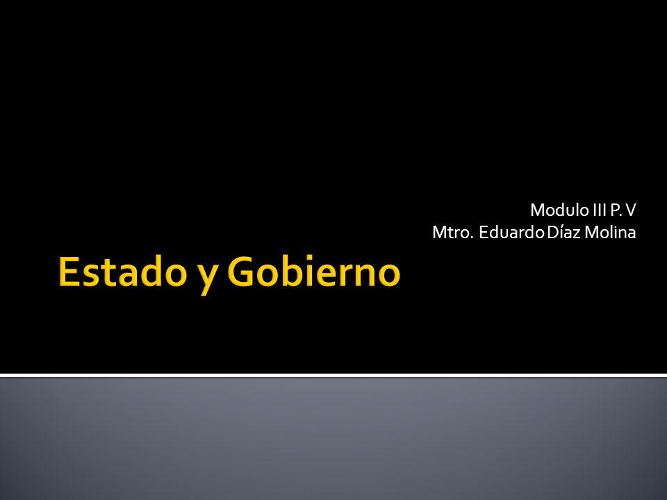 Modulo III P. V Mtro. Eduardo Díaz Molina