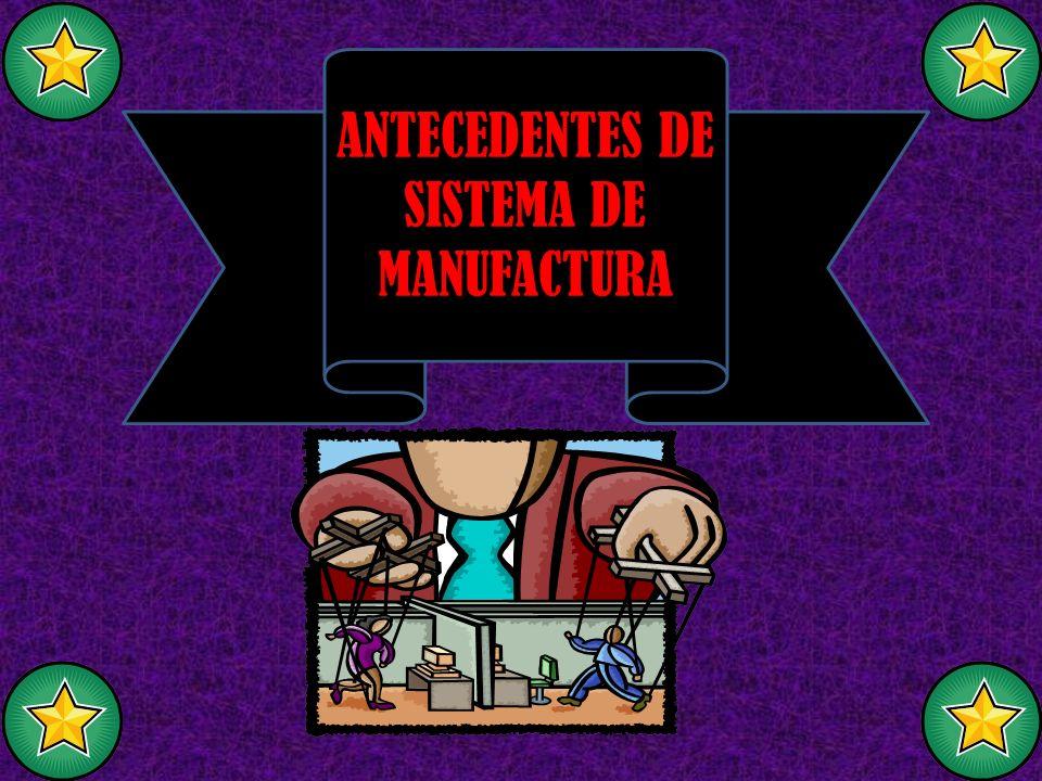 Sistema: El sistema de manufactura: Manufactura integrada por computadora : Es un conjunto de elementos interrelacionados e interactúenles entre sí.