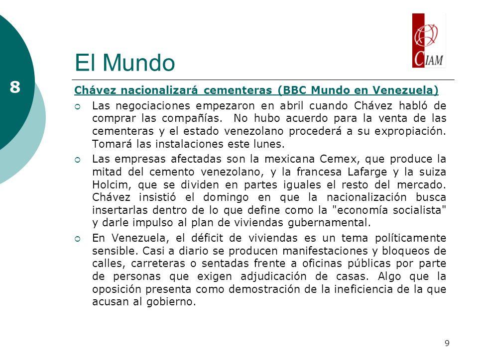 10 Lo destacado el fin de semana 9 Va México por JO de 2020, Monterrey la sede más viable El Universal publicó este domingo una entrevista con Felipe el Tibio Muñoz.