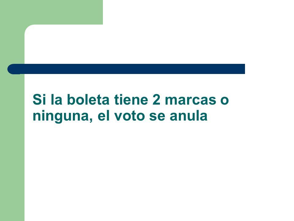 Habrá varias cabinas o boxes en la sala de votación por lo que varios electores podremos votar simultáneamente