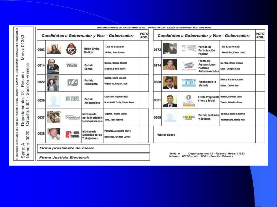 como se vota con la boleta única El 22 de mayo son las elecciones primarias, abiertas, simultáneas y obligatorias donde se implementa por primera vez el sistema de boleta única