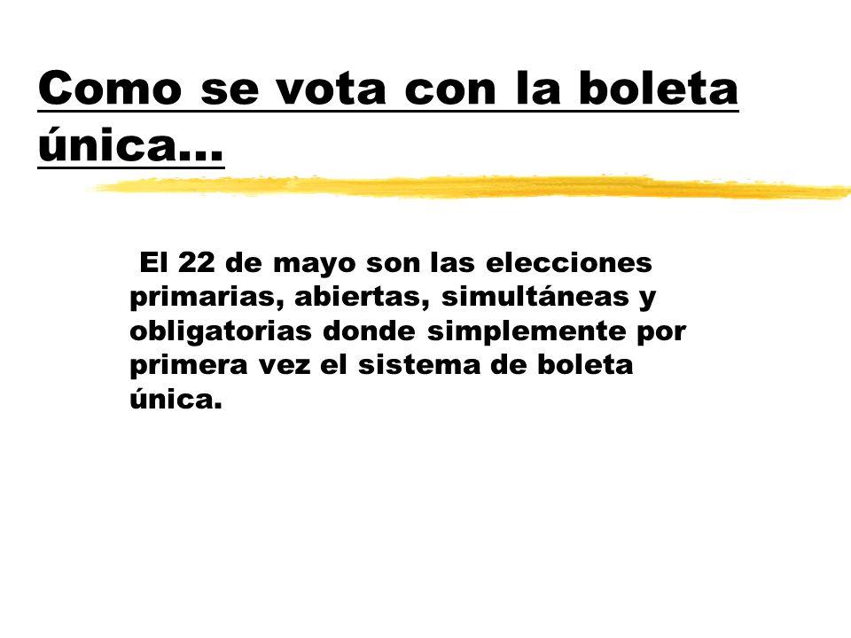 Es un sistema muy sencillo y transparente que consta de cuatro pasos : 1- Te presentas en el lugar de votación con el documento.
