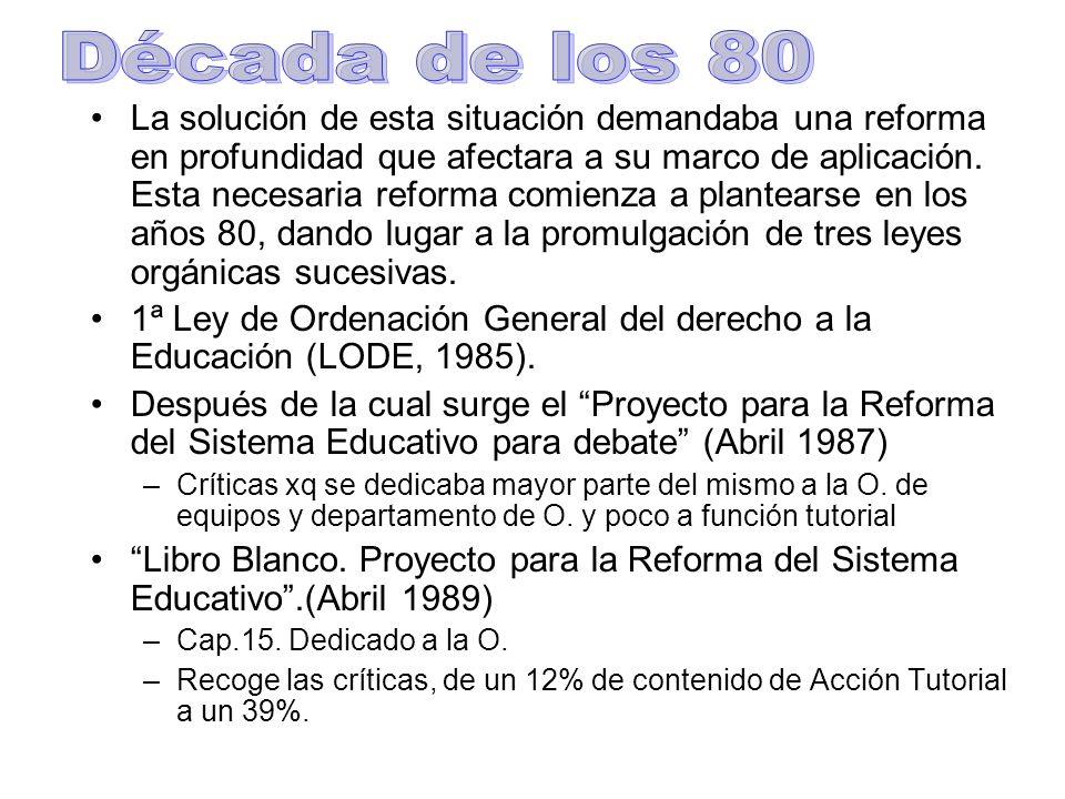 La prioridad de esta reforma es mejorar la calidad de la educación.