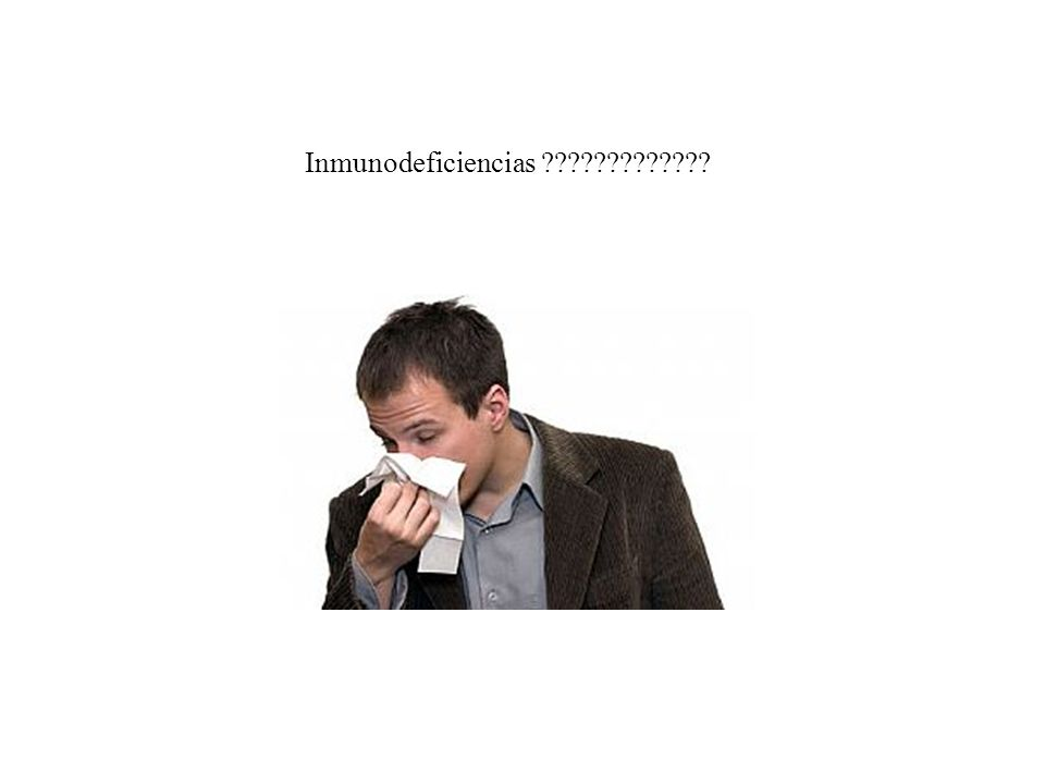 Inmunodeficiencias ?????????????