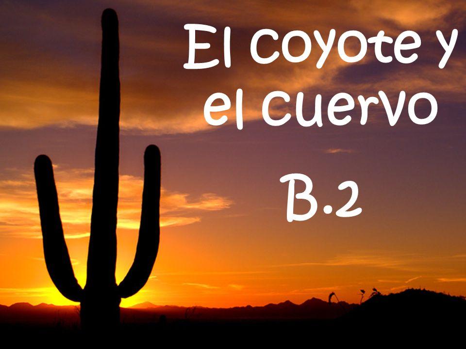El coyote y el cuervo B.2