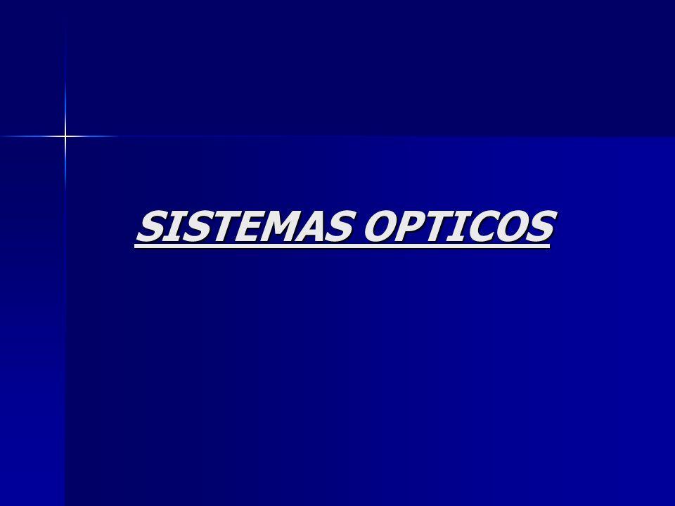 SISTEMAS OPTICOS
