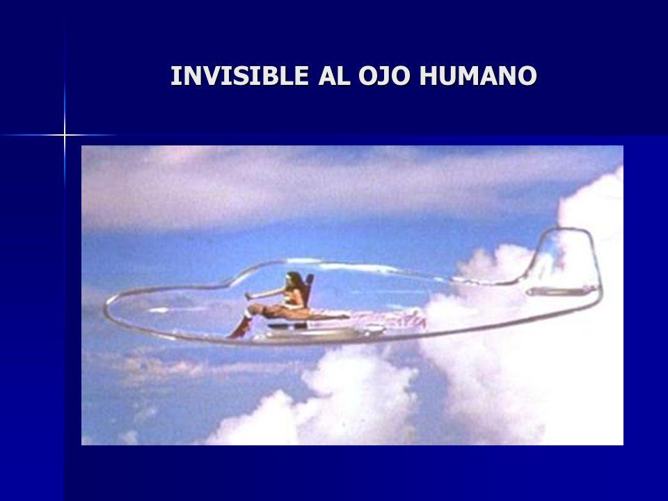 INVISIBLE AL OJO HUMANO