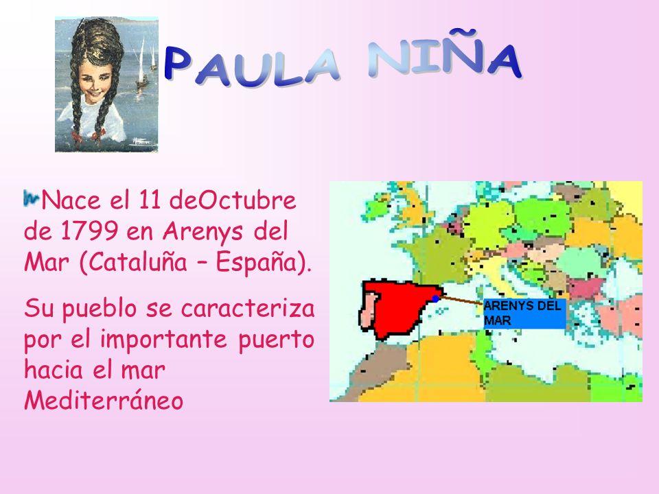 Nace el 11 deOctubre de 1799 en Arenys del Mar (Cataluña – España). Su pueblo se caracteriza por el importante puerto hacia el mar Mediterráneo