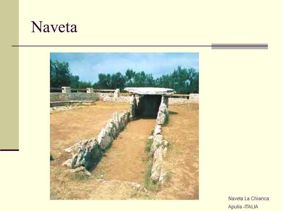 Naveta Naveta La Chianca Apulia -ITALIA